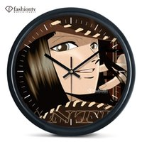 animated pirate - Archaeologists Nick robin pirates wall clock animated cartoon bedroom wall hanging mute electronic clock