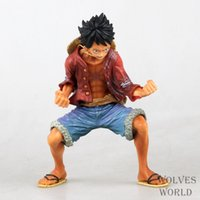 Wholesale One Piece Figure Ace Luffy Sabo Collectible Action Figure Japanese Anime Figure PVC Cartoon Figurine One Piece Toys Juguetes