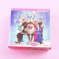 magnetic paper - 30 Frozen Elsa Anna Magnetic Paper Doll Set types Frozen puzzle cartoon DHL Free