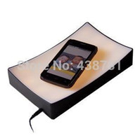 bedside table tray - New Book Paper Shape Magic Tray Lamp LED Intelligent Bedside Light Touch Sensor Table Lamp Night Light