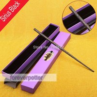 Wholesale Halloween Accessory Harry Potter Items Characters Sirius Black Magical Wand in New Box Cosplay Use Gift