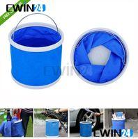 fishing gear - 11L Folding Collapsible Portable Camping Caravan Fishing Festival Water Bucket