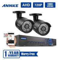 Wholesale ANNKE CH H P TVL Network DVR CCTV Video Surveillance Security Cameras System