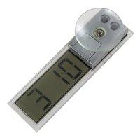 auto dashboard digital - 100pcs Car Dashboard Windshield Electronic Mini LCD Display Digital Auto Clock CEC_941