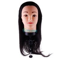 Wholesale Mannequin HeadSynthetic Head Hairdressing Human Hair Mannequin Clamp Practice Model Training