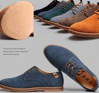 Wholesale Plus size summer okko mens casual shoes suede leather breathable skateboard shoes falts heel causal sneaerks for men Size
