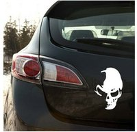 best motorcycle stickers - Best price Car Sticker Styling Covers Decals Devil Skull Applique Motorcycle Reflective Waterproof Personalized Decoration