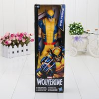 Multicolor action figure sales - Super Hero inch cm Wolverine Moving of the limbs PVC Action Figure Collectible Model Toy Hot sale