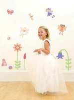 Wholesale Kids Bed Room Decoration Garden Wall Sticker With Removable