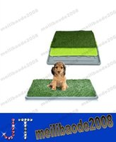 dog toilet - NEW Eco friendly Inch Dog Training Pad Pet Park Mat Outdoor Patch Toilet Pee Pads MYY15039