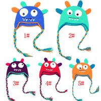beanie ear flaps - 5 Style options Toddler Owl Ear Flap Crochet Hat Children Handmade Crochet OWL Beanie Hat Beanie Kids Hand Knitted Hat