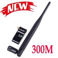 Wholesale Mini M n Wireless USB WiFi LAN Adapter Network Card for HD TV PSP