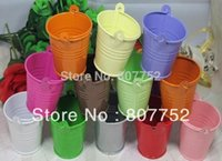 tin buckets pails - wedding candy box bucket tin box tin box Mini Pail Mint Tin Wedding Favors colour mix batch
