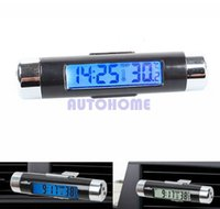 auto termometro - 5 X New in Auto termometro Car LCD Temperature Thermometer Monitor Time Clock Back light order lt no track