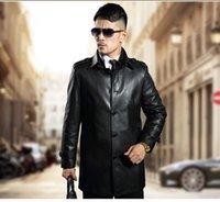european fashion for men - New Warm Thicken Leather Jackets for men European Coat Sheep Leather Fashion Jackets For Men Fashion Leisure Coats long sleeve Plus Large