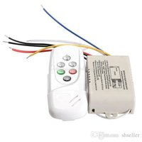 Wholesale 220 V Wireless Ways On Off Digital Remote Control Switch LED Lights Lamp Remote Control Switch BHU2 A5