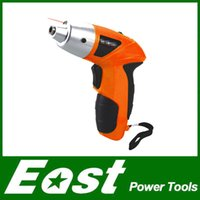 Wholesale East Power Tools V rechargeable electric screwdriver small Drill Driver Cordless sleeve Power Tools cordless drill