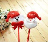 advertising - 355 Creative Christmas Santa Claus Christmas Bear wedding dress custom gift ballpoint pen advertising pen
