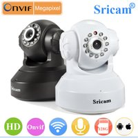 wifi ip dome - Sricam SP005 Onvif WiFI IP Camera HD P Mini Dome Infrared Night Vision Security Network Camera Support TF card up to GB