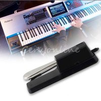 Wholesale Black WTB Electric Portable Damper Sustain Metal Pedal For HMY Piano For Yamaha For Casio Keyboard Sustain Ped