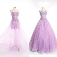 b lights crystals - High Quality A B Styles Quinceanera Dresses A Line Sweetheart Court Train Tulle Beads Exposed Boning Tiers Evening Dresses W2857