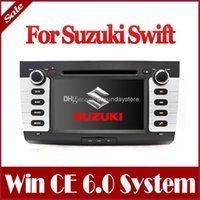 Wholesale Car DVD Player for Suzuki Swift with GPS Navigation Stereo Radio Bluetooth TV USB SD AUX Map G Audio Video Multimedia