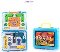 Wholesale Children s Educational Tools Chest Set Children s Pretend Play Engineer Tools Toy Great Gift For Kids