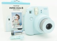 Wholesale Instax Mini Instant Film Photo Polaroid Camera Yellow Blue White Black Pink Gift