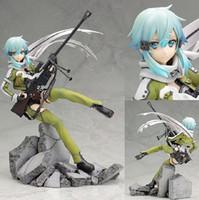 Wholesale Anime Sword Art Online PVC Action Figure Asada shino figure Model Toy CM T3416