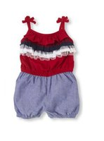 baby girl places - Original Just Arrived Place Baby Girls Piece Romper Set With Cute Mesh Trim Super Quality