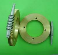 Wholesale Gear diameter mm ratio M T steel worm gear reduction gear