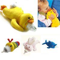 Wholesale Animal Cover Baby Infant Feeding Bottle Feeder Case Insulation Keep Warm Holder Kids Cartoon Milk Bottle Case Baby Feeding Supplies GD16 F01
