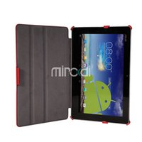 asus transformer case - for ASUS Transformer Book Trio TX201LA TX201 inch PU Leather Case Cover with Stand High Quality Flip Cover Tablet PC