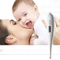 Wholesale Fashion Hot Home Human Adult Baby Body Electronic Thermometer Digital LCD Display Fever Heat Measuring Temperature Household Usefull