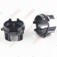 Wholesale Headlight H7 HID Xenon Bulb Adapter Holder Converter Base For KIA K3 K3S Car HID Accessories