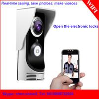Wholesale Waterproof Home Wireless Digital Intercom Doorbell Smart Peephole Viewer Camera Megapixel Night Vision WIFI Door Bell Video Door Phone