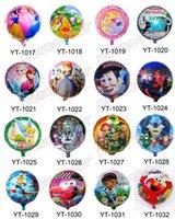 Wholesale 100pcs Aluminium Coating Balloons Birthday wedding party Decoration Inch Foil Balloons