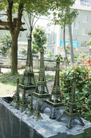 Wholesale France paris D Eiffel Tower model Alloy Eiffel Tower desk table office home decoration special gift