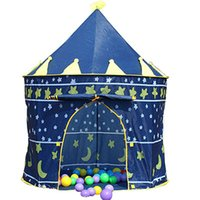baby girl play - Hot Play Game House for girls boys Princess Prince Castle Toys Tents Gifts Ultralarge Children Beach Tents high quality Baby Toy