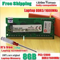 Wholesale Brand New Sealed Sodimm DDR3 Mhz GB for Laptop RAM Memory Lifetime warranty Get a FREE screwdriver