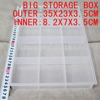 Wholesale retails big storage box inner boxes tool box perfect for painting tool fishing medicine beauty storage use