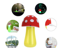 Wholesale New Home Mini Cute Mushroom Aroma V USB LED Humidifier Air Purifier Atomizer Diffuser for Home Room Health Care