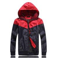 Wholesale 2015 New Arrival Men s Fashion Splicing Waterproof Jacket Male Casual Cool Camping Hiking Wear Windbreaker Coat MWJ553
