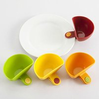 Wholesale Hot Sale New Dip Clips A Dip and Clip relish plate Pepper easy clean up dishwashier safe