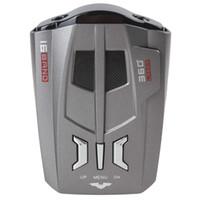 Wholesale 2pcs Car Detector V9 Russia English Brand LED Display X K NK Ku Ka Laser Anti Radar Detector CEC_920