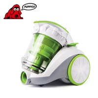 Wholesale Vacuum Cleaner for home PUPPYOO D Powerful Suction Low Noise Cone Cyclone Dust collector Vacuum Cleaner Green Color