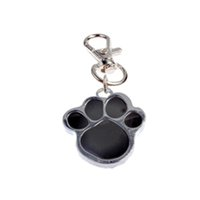 Wholesale Dog Paw Style Dog Name Dog Necklace Tag Pets For Pets Fashion Key Chain