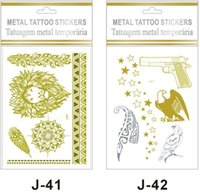 Wholesale 2016 Hot Sale Postcards Postcard Christmas Cards Metal Stamping Factory Direct Tattoo Stickers Fashion Personality Environmental J41