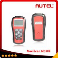 Code Reader For Audi Autel Auto code scanenr OBDII EOBDII MS509 scanner Autel MaxiScan code reader scanner multi-languae obd03