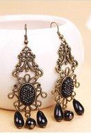 beaded chandeliers for sale - 2014 NEW SALE Vintage Earrings for Women Lolita Bohemian Beaded Fringed Earrings LC0924 Drop Earrings jewelry for women FG1511